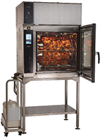 Self-Cleaning Rotisserie Oven