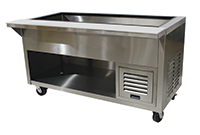 Heavy Duty Refrigerated Cold Well Tables
