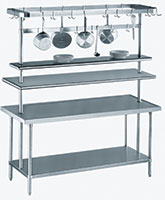Stainless Steel Adjustable Shelving and Components