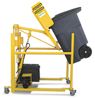 Mobile Automated Waste Cart Lifter