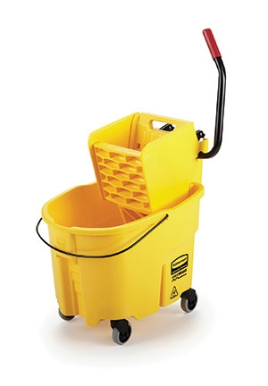 rubbermaid commercial products mop bucket