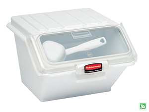 rubbermaid commercial products ingredient bin