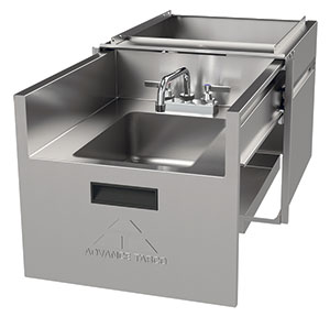 Advance Tabco Concealed Handsink Drawer