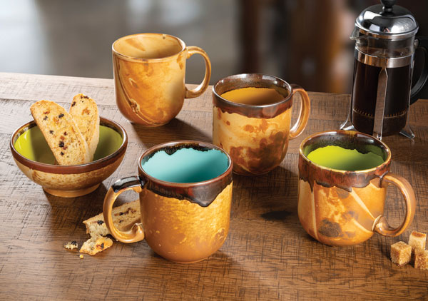 HLC Fresco Mugs & Bowl