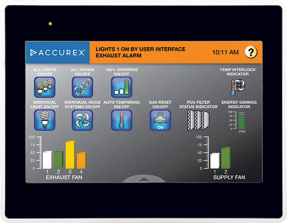 Accurex ACX VariFlow TouchScreen 01 Home