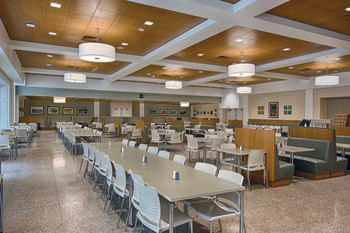 Employee Caf 233 And Main Kitchen At Reading Hospital In West