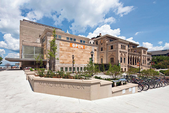 The University of Wisconsin Preserves the Old and Welcomes the New at