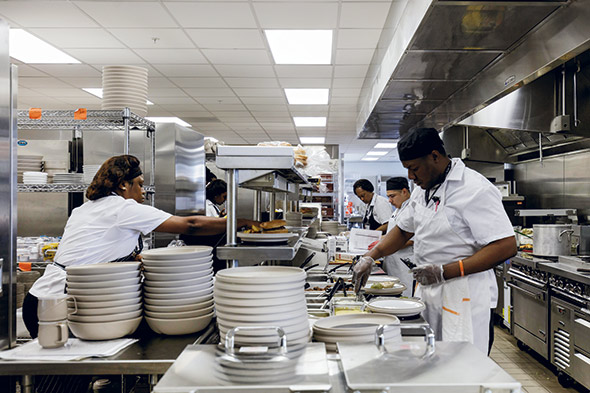 Rebuilding Patient And Retail Foodservice At Shirley Ryan