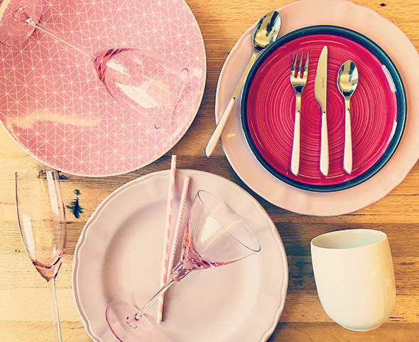 millennial pink dinnerware littlemtucker edited