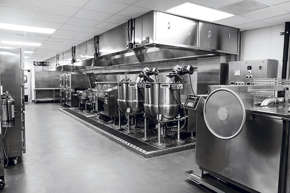 Wexner steam jacketed kettles