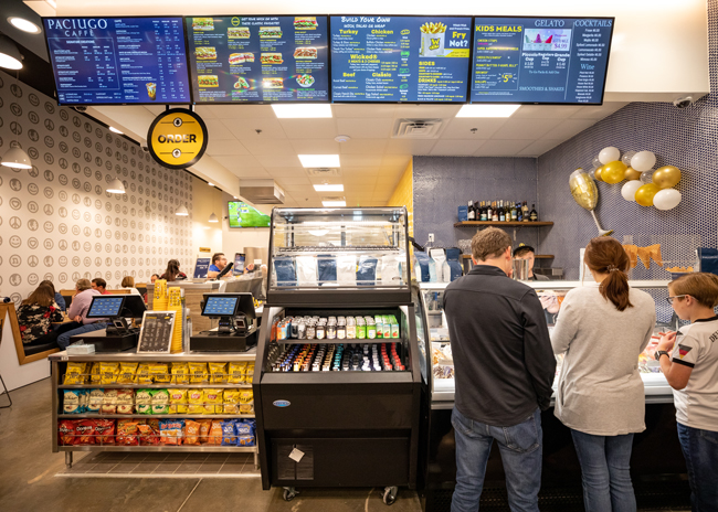 Which Wich Paciugo's Counter