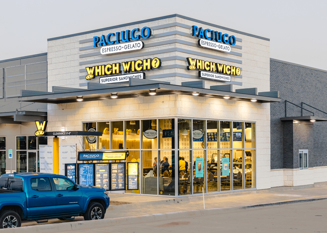 Which Wich Paciugo Outside