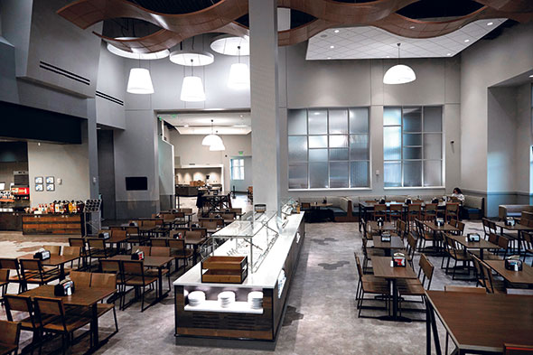Renovation Turns Dining Hall Into Destination For Auburn University Students Foodservice Equipment Supplies