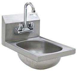 Space-Saver Hand Sinks