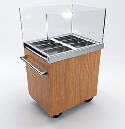 Mobile Buffet Service System