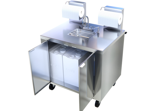 Mobile Handwashing Station
