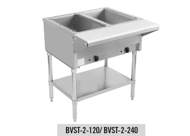Dry Well Steam Tables
