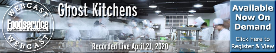 Ghost Kitchens Webcast - recorded live April 21, 2020